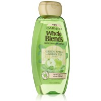 Garnier Whole Blends Refreshing Shampoo, Green Apple & Green Tea Extracts 12.50 oz [603084462162]