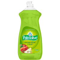 Palmolive Essential Clean Dishwashing Liquid, Apple Pear 28 oz [035000462855]