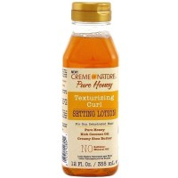 Creme of Nature Pure Honey Setting Lotion 12 oz [075724428041]