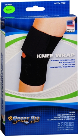 Sport Aid Knee Wrap Small 1 Each [763189215503]