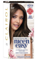 Nice 'n Easy Permanent Color, Brown Black [3] 1 ea [070018116789]