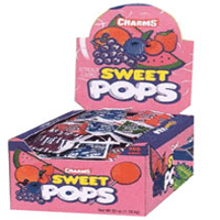 Charms Sweet Pops Assorted 100 ct [989801470626]