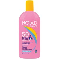 NO-AD Baby Gentle Sunscreen Super Size Lotion, SPF 50 13 oz [000774213019]