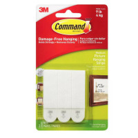Command Medium Picture Hanging Strips 3 ea [051131809741]