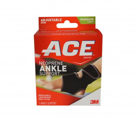 ACE Ankle Support One Size 1 Each [051131198067]