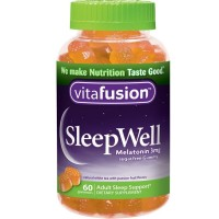 Vitafusion SleepWell Gummies White Tea with Passion Fruit 60 Each [027917023106]