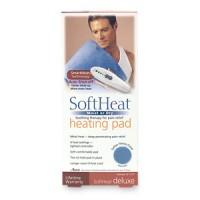 SoftHeat Heating Pad, Moist or Dry, Deluxe 1ea [028785607504]