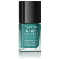 CoverGirl Outlast Stay Brilliant Nail Gloss, Mint Mojito [285] 0.37 oz [008100007738]