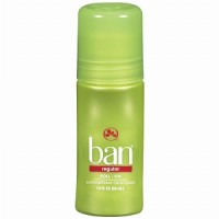 Ban Original Roll-On Antiperspirant and Deodorant, Regular 1.5 oz [019045001125]