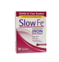 Slow Fe Slow Release Iron, Tablets 30 ea [886790019305]