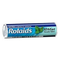 Rolaids Extra Strength Antacid Chewable Tablets, Mint 10 ea [041167100158]