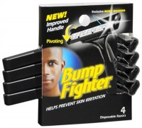 Bump Fighter Disposable Razors 4 Each [024500462076]