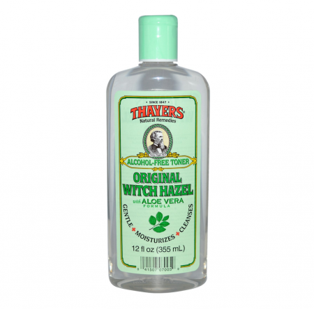 Thayers Witch Hazel with Aloe Vera, Alcohol Free, Original 12 oz [041507070059]