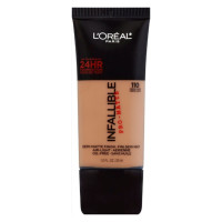 L'Oreal Paris Infallible Pro-Matte Foundation, Creme Cafe [110] 1 oz [071249293096]