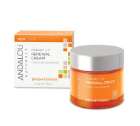 Andalou Naturals Brightening Probiotic Plus+ C Renewal Cream 1.7 oz [859975002300]