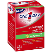 One A Day Advanced Series Multivitamins with Probiotics 50 ea [016500565840]
