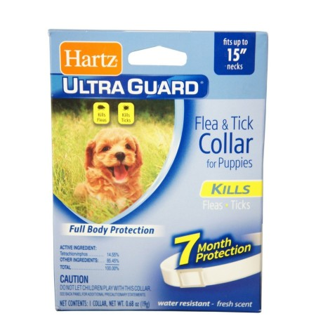 "Hartz Ultraguard Flea & Tick Puppy Collar 15"" 1 Each [032700804787]"