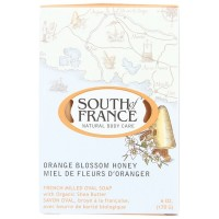 South of France Orange Blossom Honey Bar Soap 6 oz [856885200109]