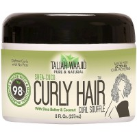 Taliah Waajid Pure & Natural Shea-Coco Curly Hair Curl Souffle 8 oz [815680006569]