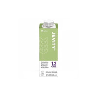 Oral Supplement Jevity 1.2 Cal with Fiber Unflavored 8 oz Recloseable Tetra Carton Ready to Use - 1 ea [070074646244]