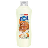 Suave Essentials 2 in 1 Shampoo & Conditioner, Almond Verbena 30 oz [079400588555]
