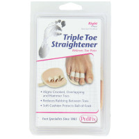 PediFix Triple Toe Straightener, Right Foot 1 ea [092437815814]