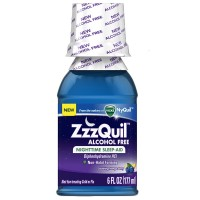 ZzzQuil Alcohol Free Nighttime Sleep Aid, Soothing Mango Berry 6 oz [323900038554]