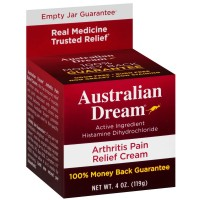 Australian Dream Arthritis Pain Relief Cream, 4 oz [694603000002]