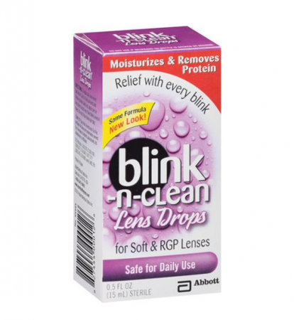COMPLETE Blink-N-Clean Lens Drops 15 mL [827444000126]