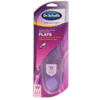 Dr. Scholl's Stylish Step Clear Cushioning Insoles for Flats, Size 6-10 1 ea [011017570059]