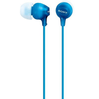 Sony In-Ear Headphone, Blue 1 ea [027242868656]