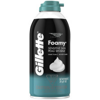 Gillette Foamy Shave Foam Sensitive Skin 11 oz [047400241459]