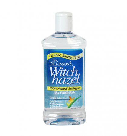 Dickinson's Witch Hazel All Natural Astringent 16 oz [052651000069]