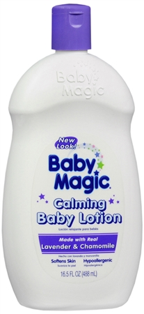 Baby Magic Calming Baby Lotion Lavender and Chamomile 16.50 oz [075371050107]