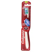 Colgate 360 Optic White Full Head Toothbrush, Medium, 1 ea [035000680464]