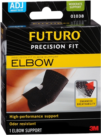 FUTURO Infinity Precision Fit Elbow Support Adjustable 1 Each [072140010386]