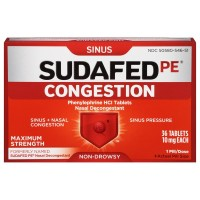SUDAFED PE Congestion Maximum Strength Non-Drowsy Tablets 36 ea [300450581365]