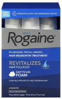 Rogaine Men's Easy-To-Use Foam 6.33 oz (3 Pack) [312547781350]