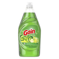 Gain Ultra Dishwashing Liquid, Original 21.6 oz [037000976189]