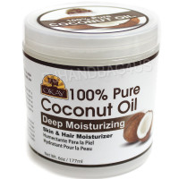 Okay 100% Pure Coconut Oil, Deep Moisturizing 6 oz [810367018439]