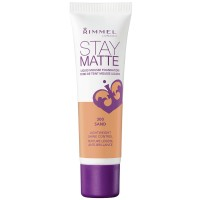 Rimmel London Stay Matte Liquid Mousse Foundation, Sand [300] 1 oz [3607342675827]