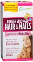 Applied Nutrition Longer Stronger Hair & Nails Liquid Soft-Gels 60 60 Soft Gels [710363575175]