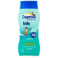 Coppertone Kids Sunscreen Lotion SPF 70+ 8 oz [041100002228]