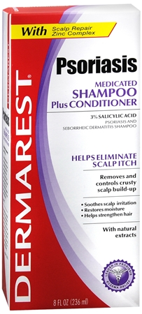 DERMAREST Psoriasis Medicated Shampoo Plus Conditioner 8 oz [363736730208]