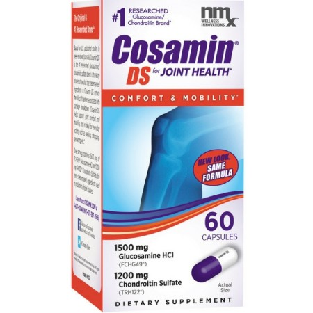 Cosamin DS For Joint Health Comfort & Mobility, 60 Capsules [755970808605]