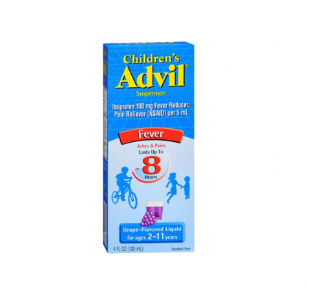 Advil Children's Suspension Grape Flavored 4 oz [305730171304]