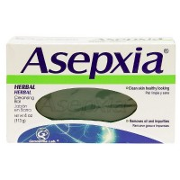 Asepxia Herbal Cleansing Bar Soap 4 oz [650240027055]