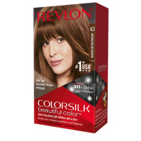 Revlon Colorsilk Beautiful Color Permanent Hair Color, Medium Golden Brown [43] 1 ea [309978695431]