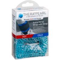 TheraPearl Reusable Hot & Cold Therapy Ankle/Wrist Wrap with Strap 1 ea [850803002523]