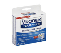 Mucinex FAST-MAX Cap-Cold, Flu & Sore Throat 2pk 8 ea [363824191447]
